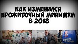 видео Прожиточный минимум в России в 2018 году