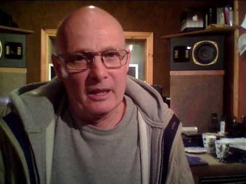 Preparing for the recording studio. (Garage Studio) Martin Smith Engineer, Composer, Musician.