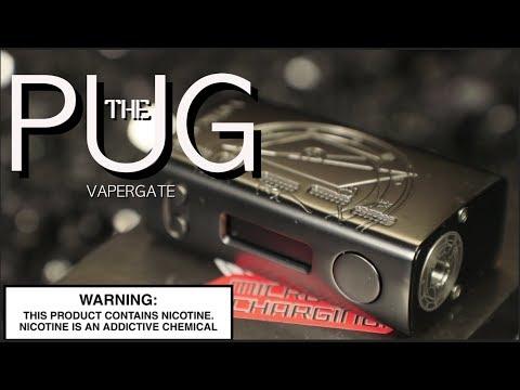 THE PUG Box Mod By VAPORGATE ~Vape Box Mod Review~