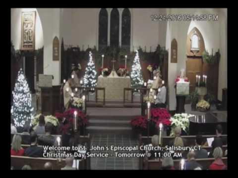Christmas Eve Service 2016, St. John's Episcopal Church, Salisbury CT