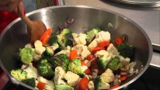 Experts aux fourneaux : Sauté de légumes Thaï