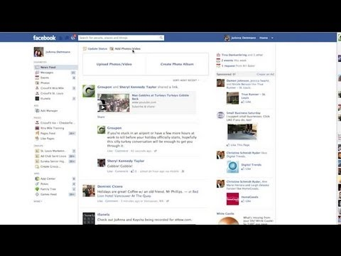 How to Upload a Video on Facebook From a PC : Facebook & Social Networking