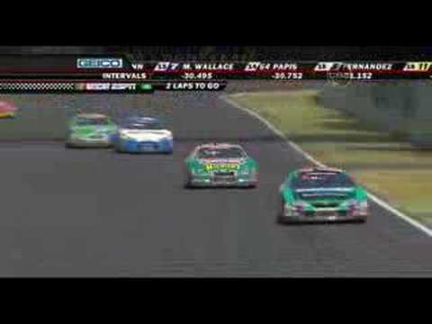 Marcos Ambrose - NNS Corona 200 Mexico City - Last 3 laps