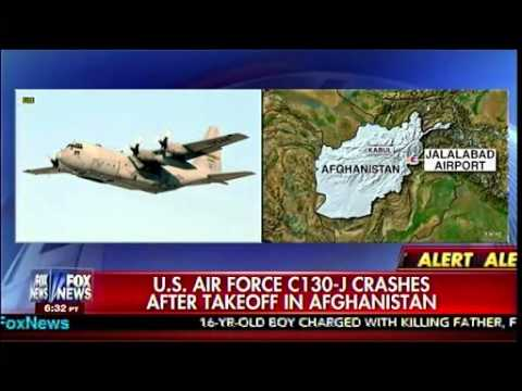 U.S. Air Force C130-J Crashes After Takeoff In Afghanistan - America's Newsroom