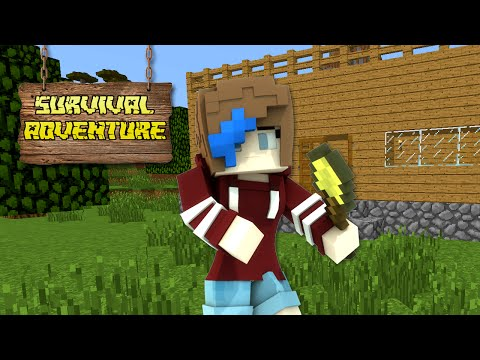 MINECRAFT SURVIVAL ADVENTURE SERIES | HOUSE BUILD PT2 | RADIOJH GAMES