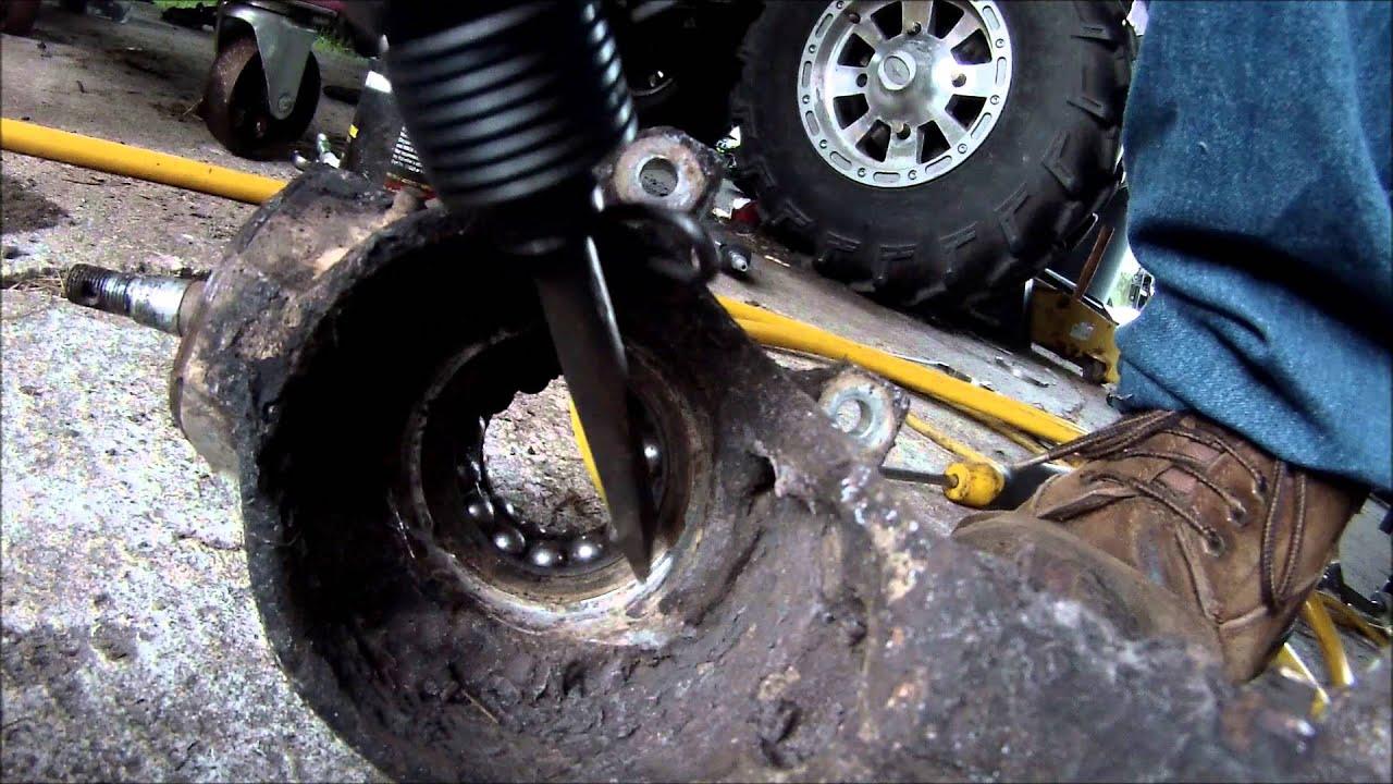 medium resolution of 2005 polaris magnum 330 wheel bearing replacement 4x4