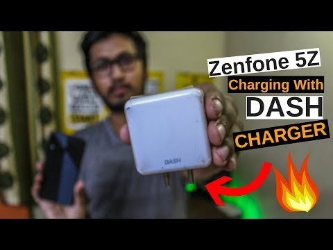 Asus Zenfone 5Z Charging Test | Dash Charger Vs Phone Charger