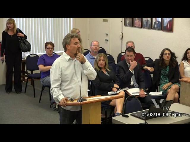 Cottonwood City Council Regular Meeting April 3 2017