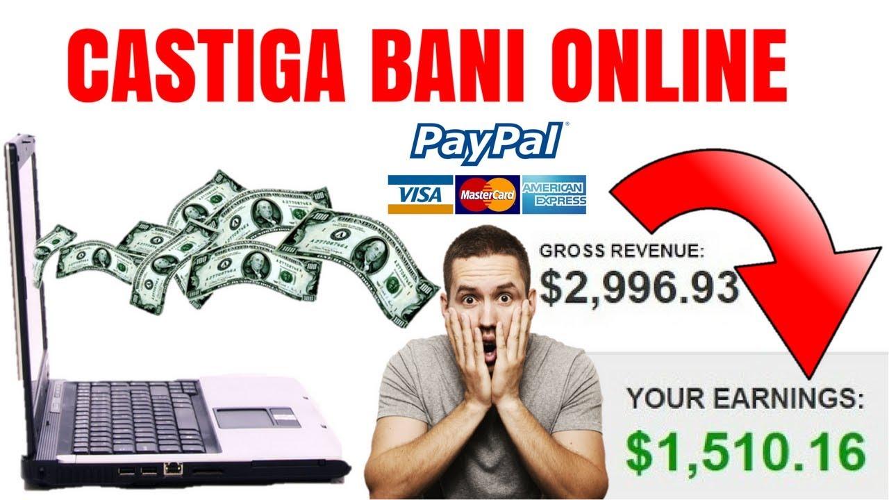 cineva face bani folosind internetul