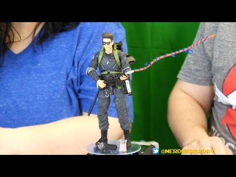 Ghostbusters 2 Egon Spengler Figure Review - By Diamond Select
