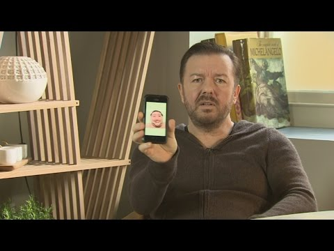 Special Correspondents: Ricky Gervais does an epic Face Swap!