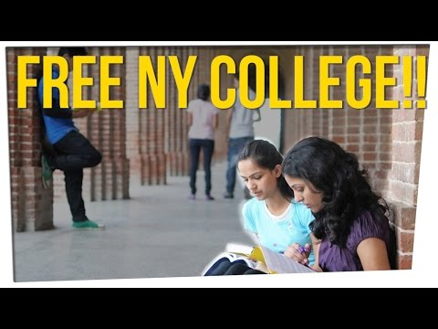 New York Offers FREE College Tuition Under These Conditions ft. DavidSoComedy