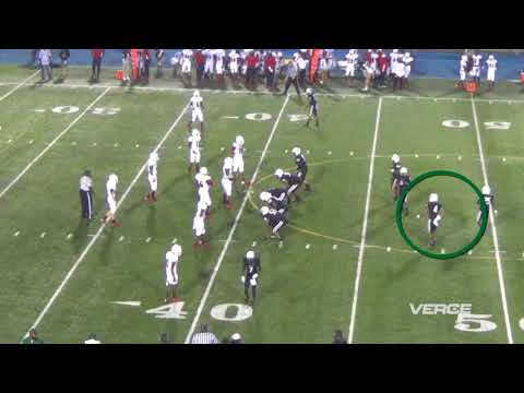 James Cook-Miami Central-Class of 2018-Week 1 vs. Chaminade