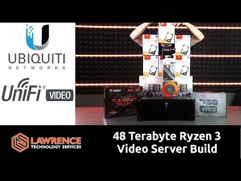 48 Terabyte Ryzen 3 Ubiquiti  Unifi  Server Build