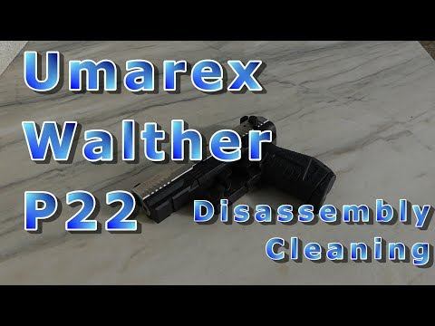 Umarex Walther P22 - disassembly, cleaning, assembly