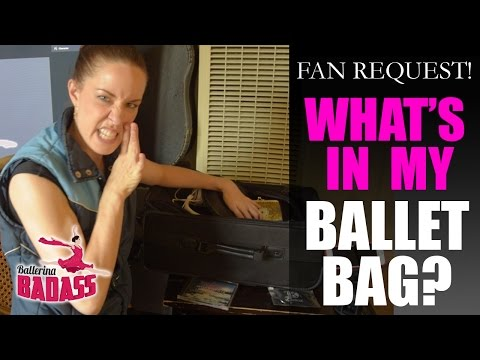 What's In My Ballet Bag - with Ballerina Badass