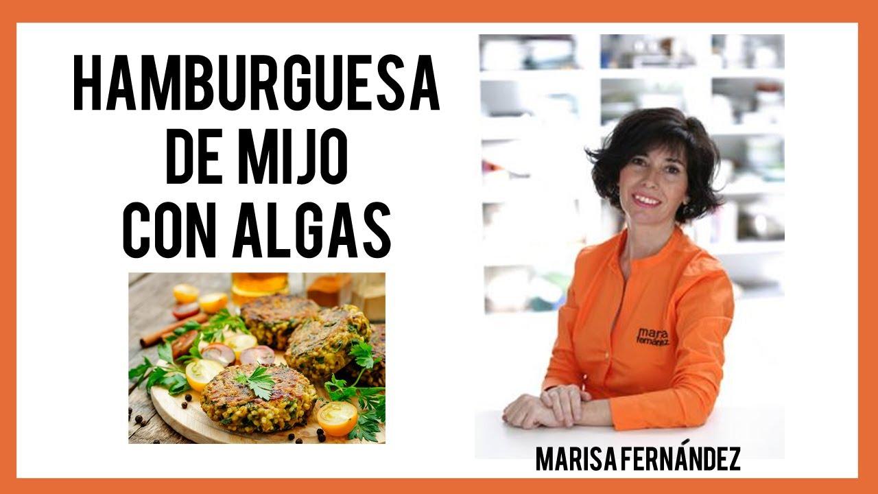La cocina que te cura hamburguesa de mijo con algas for Que es la cocina vegana