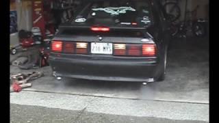1987 mustang gt full exhaust bbk flowmaster