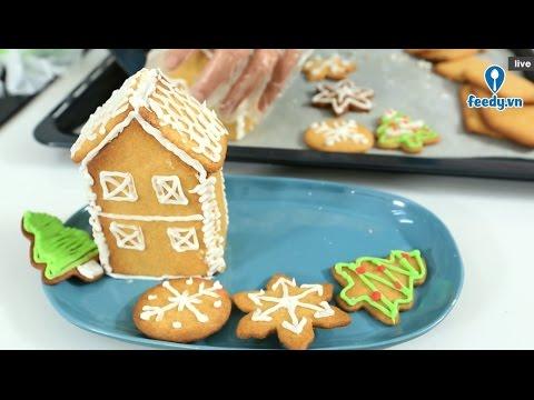 Hướng dẫn trang trí bánh quy gừng với #feedy