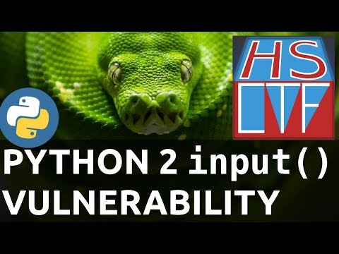 HSCTF - Python Remote Code Execution (A Simple Conversation) thumbnail