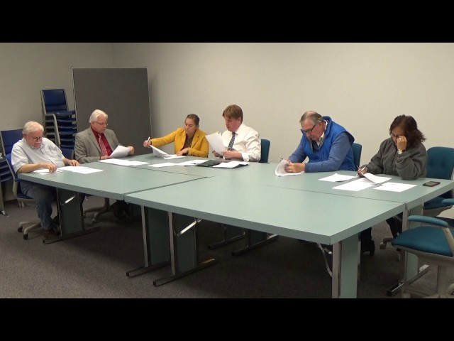 Town of Plattsburgh meeting  10-24-16