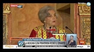 Visión 7: Elena Poniatowska recibió el Premio Cervantes