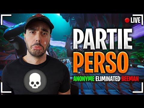 🔴 LIVE FORTNITE PARTIE PERSO - UN MAX DE KILL POUR BIEN COMMENCER LA SEMAINE !
