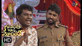 Adhire Abhi Thagubothu Ramesh Performance | Ganapathi Bappa Morya | 25th August 2017 | ETV Telugu