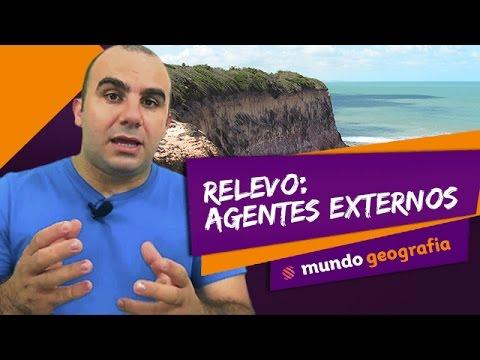 Relevo: Agentes Exógenos - Mundo Geografia - ENEM