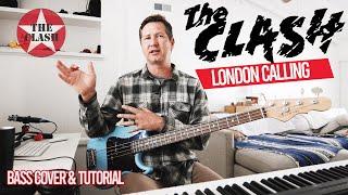 The Clash London Calling Bass, Tutorial + Lesson