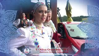 MISS FOLKLÓR 2017 | finalistka č. 1 | Alisa Oravcová