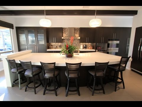 Furniture Large Kitchen Island With Seating Ideas
