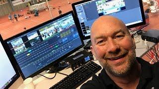 Danmarksrekord i livestreaming - behind the scenes ved DM Atletik 2017