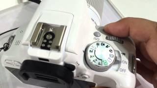 Canon EOS Kiss X7/EOS Rebel SL1/EOS 100D: Shutter Sound