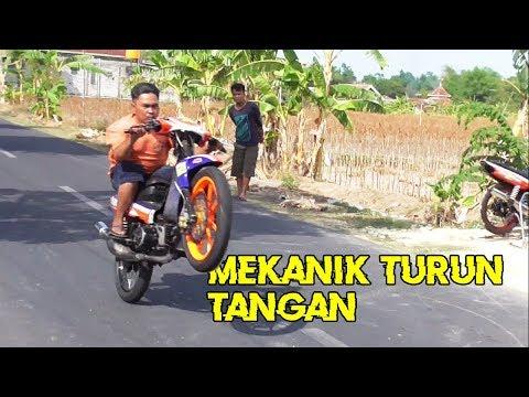 MEKANIK TURUN TANGAN!! SETTING YAMAHA FIZ R SAMPEK PAS    ROAD RACE INDONESIA