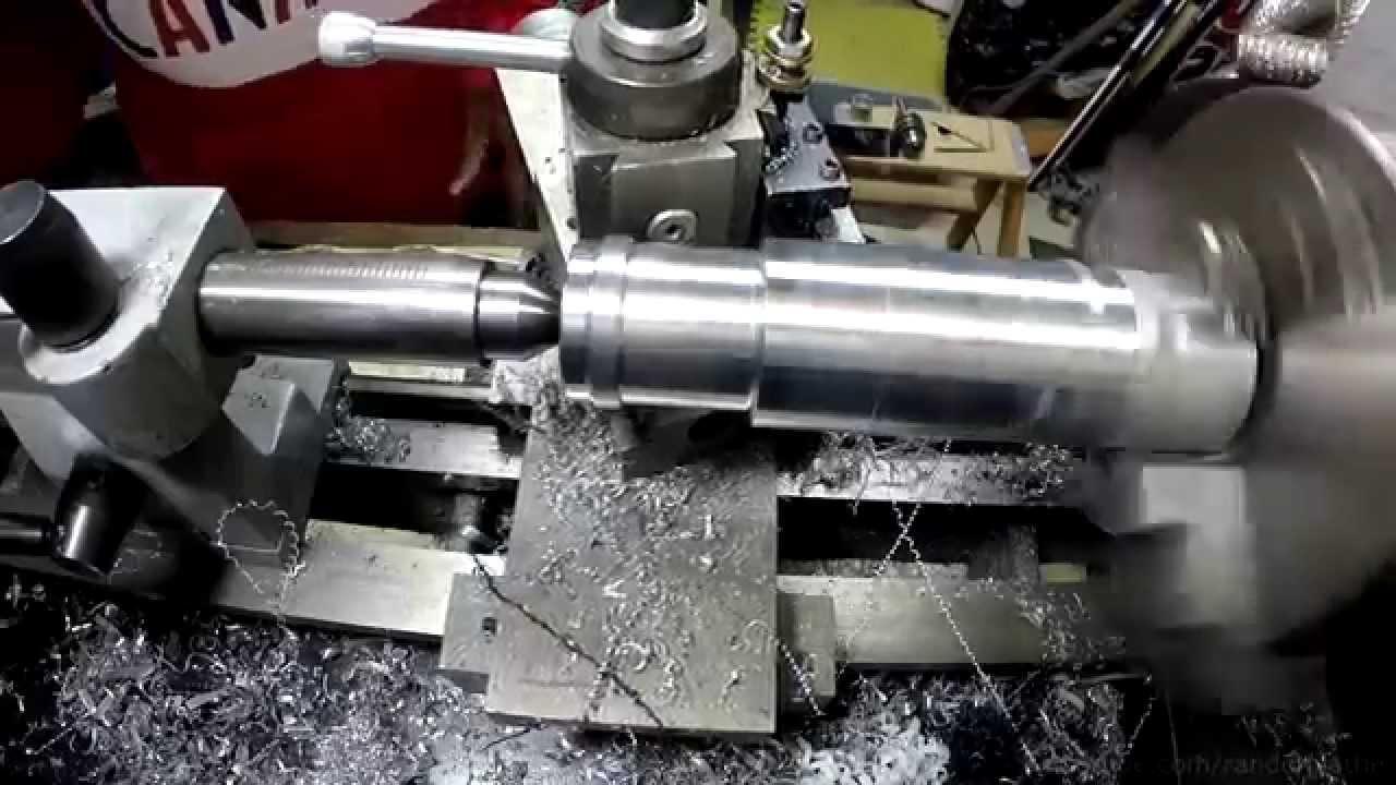 Mini lathe machining coolant hose adapter youtube