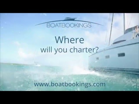 Charter a Yacht with Expert Brokers at Boatbookings
