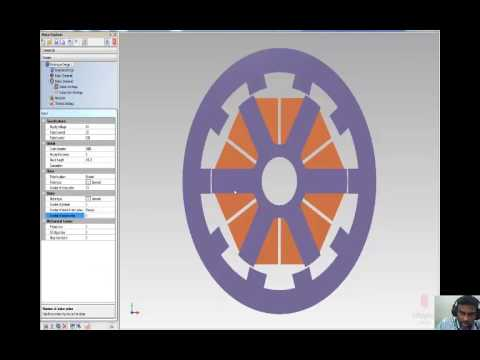 Switched reluctance Hub motor Design   Application to Electric vehicle