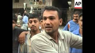 WRAP Car bombs in Basra, Baghdad kill 10; anti-US demo, Harthiyah a