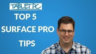Be a Surface Pro! 5 TOP TIPS (so far)