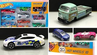 2018 Hot Wheels 50th Anniversary 10 car pack and more news