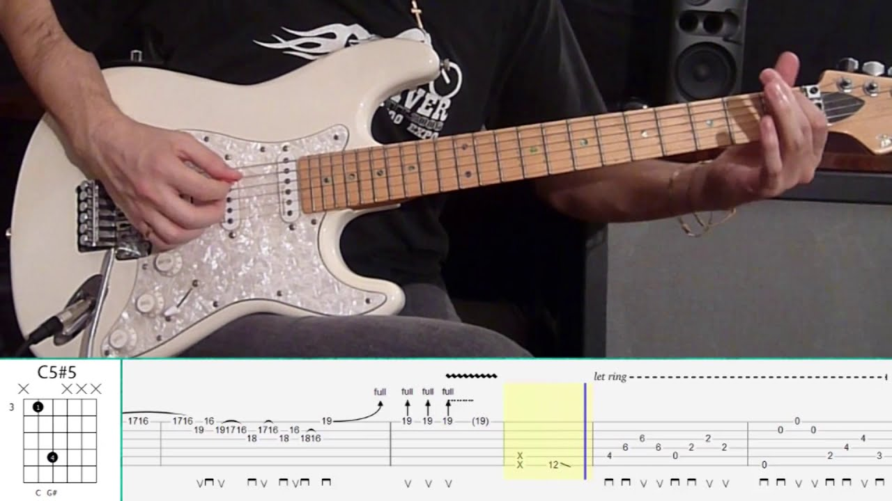 Skid Row - 18 And Life (Guitar Tutorial) - YouTube
