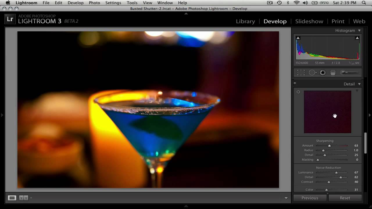 Lightroom 3 Noise Reduction Tutorial