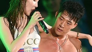 Sunmi & Cha HyunSeung (Backup Dancer) GASHINA STAGE COMPLICATION
