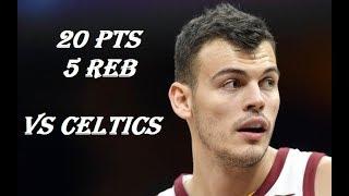 Ante Zizic 20 Pts 5 Reb Boston Celtics vs. Cleveland Cavaliers HIGHLIGHTS