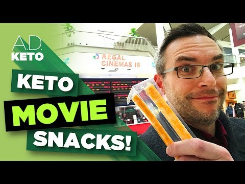 Keto Movie Snacks | Low Carb Smuggle-ables!