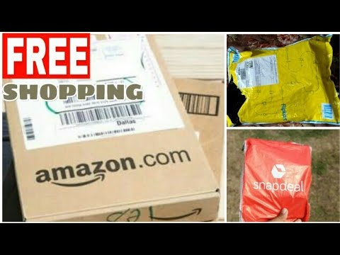 (Amazon,Flipkart,Snapdeal,Paytm,Myntra,Shopcules Free Shopping Tricks) Best Shopping Apps(Hindi)2019