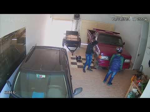 Gazeta Digital  - Vídeo mostra ação de dupla em escritório