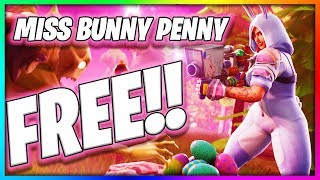 Get The *NEW* MISS BUNNY PENNY In Fortnite For Free NOW!