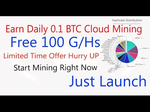 Earn Daily 0 1 Btc Vixice Earn Bitcoin From Cloud Mining Free -